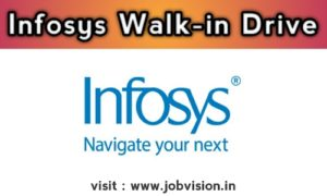 Infosys Walk-in Drive