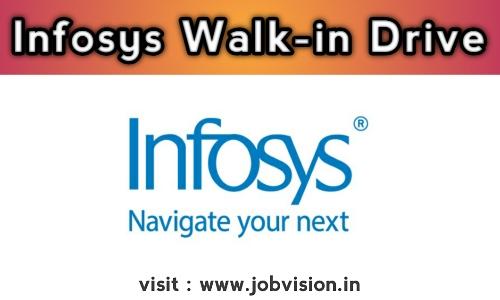 Infosys Walk-in Drive