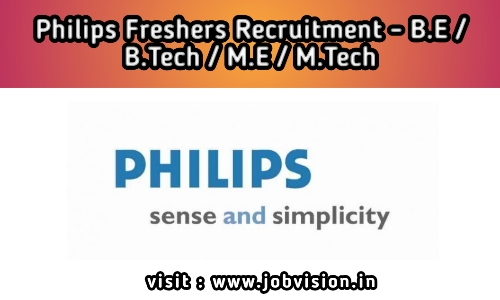 Philips Freshers Recruitment