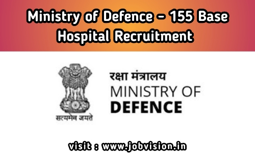 Ministry of Defence Recruitment 2020 | Steno, Ward Sahayika, Safaiwala & Other Posts | Total Vacancies 54