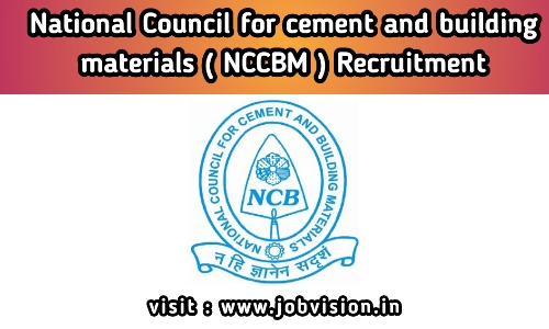 NCCBM Recruitment 2020, Apply for Laboratory Assistant & Other Vacancies @ ncbindia.com