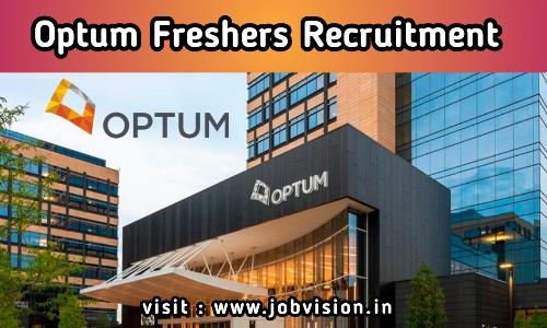 Optum Freshers Recruitment