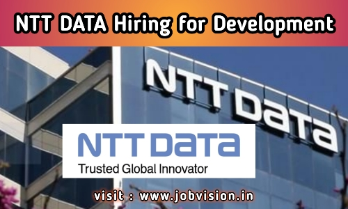 NTT Data Hiring 2020 | UI Lead Developer for B.E / M.E | Apply Online @ Official Website