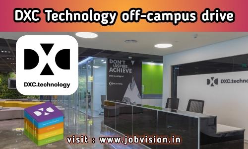 DXC Technology off campus Recruitment