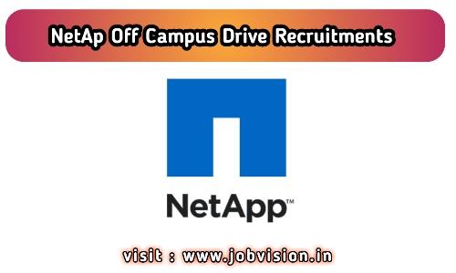NetApp Off Campus Drive 2020