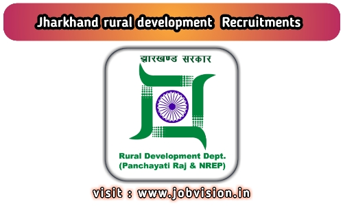 Jharkhand Rural Development Recruitment