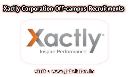 Xactly Corporation Recruitment