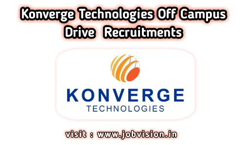 Konverge Technologies Off Campus Drive