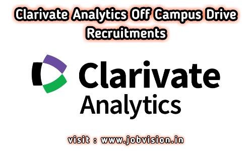 Clarivate Analytics Off Campus