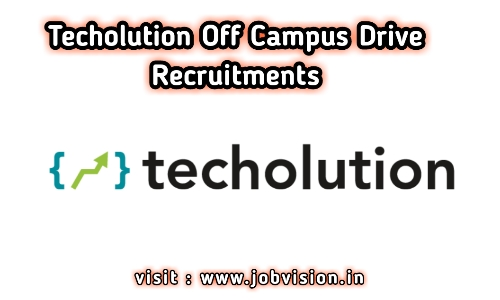 Techolution Off Campus Drive 2020 | Android Intern | BE / B.Tech | Hyderabad