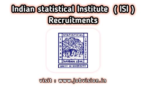 ISI Recruitment