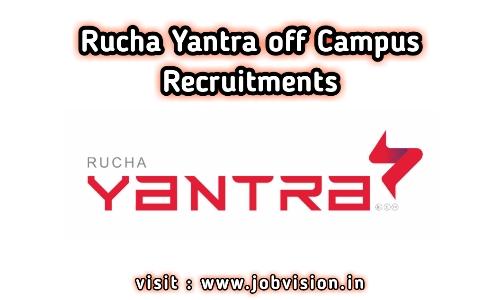 Rucha Yantra Off Campus Drive