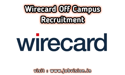 Wirecard Off Campus Drive 2020 | Java Developer | BE / B.Tech - Freshers | Chennai