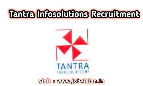 Tantra Infosolutions Recruitment 2020 | Design Engineer | Diploma / B.E / B.Tech | Bangalore
