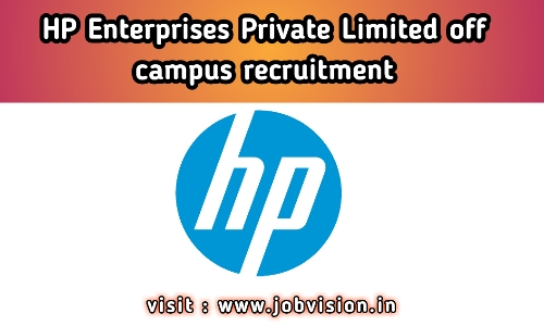 HP Enterprise Recruitment 2020