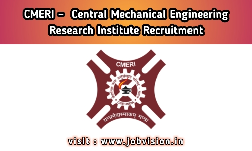 CMERI - Central Mechanical Engineering Research Institute