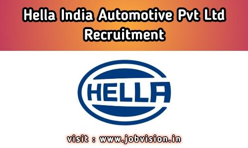 HELLA India Recruitment