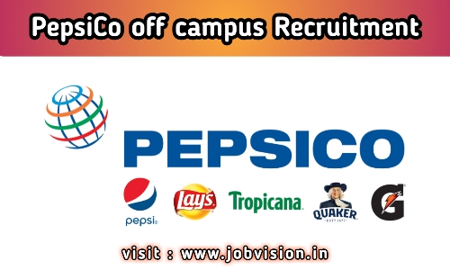PepsiCo Recruitment
