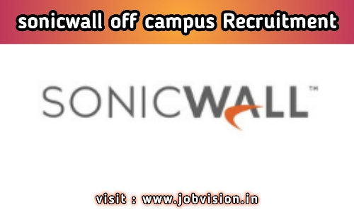 SonicWall Off Campus Drive 2020 | Graduate Trainee Engineer | BE / B.Tech - Freshers | Bangalore