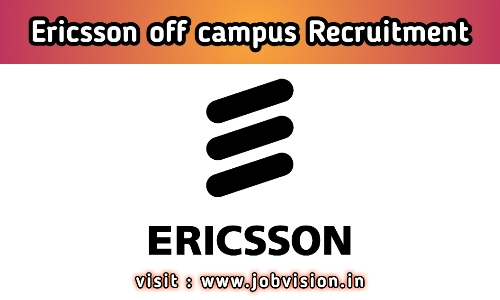 Ericsson Recruitment 2020