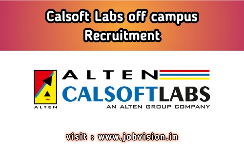 Calsoft Labs Off Campus Drive