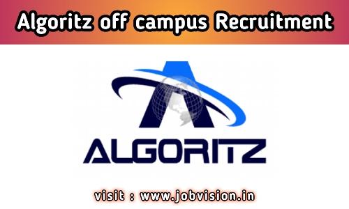Algoritz Web Technologies Off Campus Drive