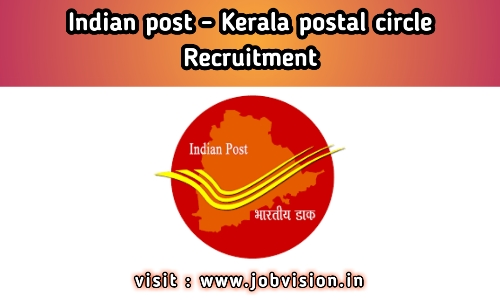 Kerala Postal Circle Recruitment Indian Post