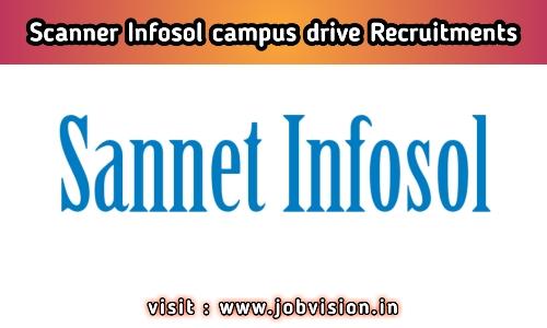 Scanner Infosol campus drive Recruitments