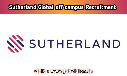 Sutherland Off Campus Recruitment