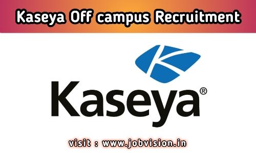 Kaseya Hiring Candidates
