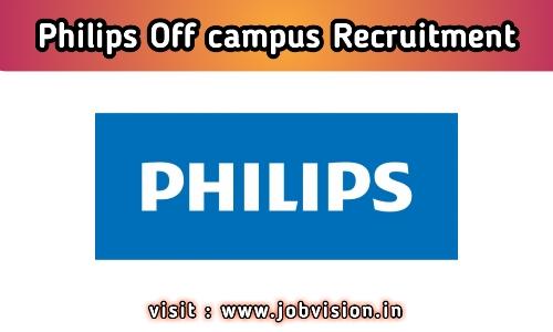 Philips Off Campus Recruitment