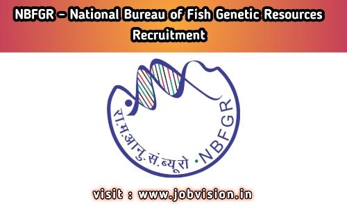 NBFGR Recruitment