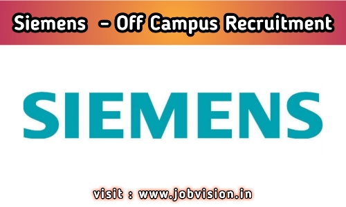 Siemens Recruitment