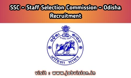 SSC - Odisha Staff Selection Commission