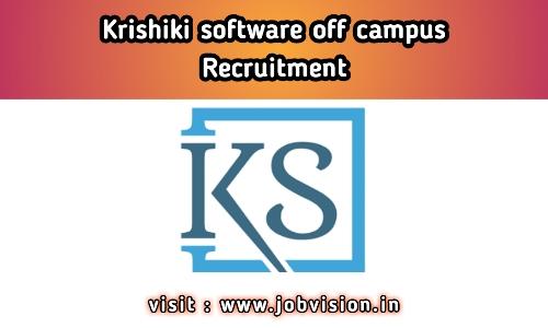 Koushiki Software Off Campus Drive