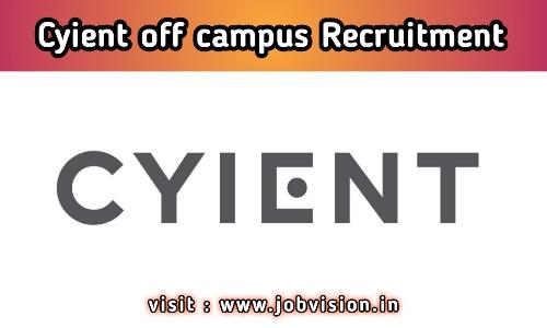 Cyient Recruitment