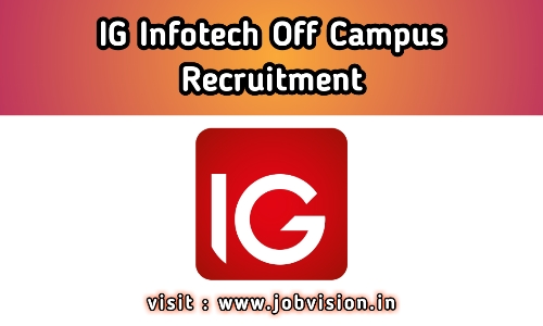 IG Infotech Off Campus Drive