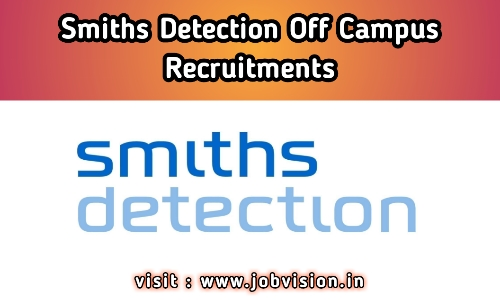 Smiths Detection Off Campus Drive 2020