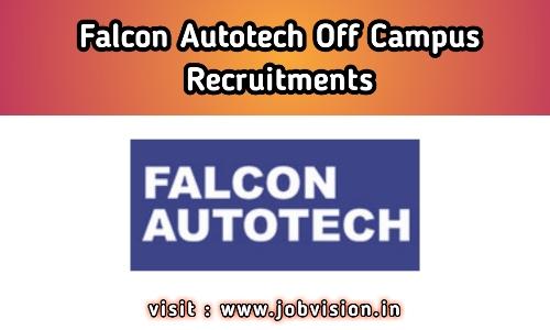 Falcon Autotech Recruitment