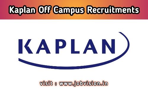 Kaplan Recruitment 2020