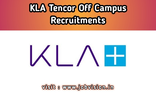 KLA Tencor Recruitment
