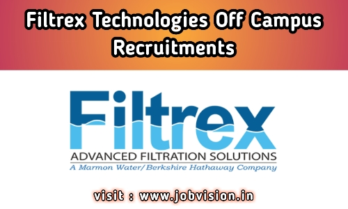 Filtrex Technologies Recruitment