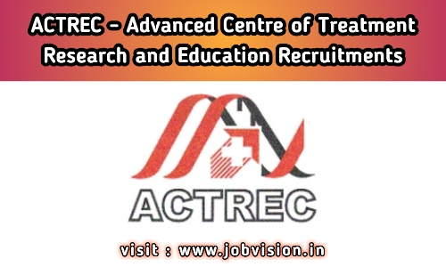 ACTREC - Advanced Centre for Treatment Research and Education Recruitment