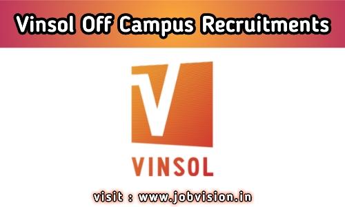 Vinsol Recruitment