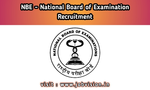 NBE - National Board of Examinations