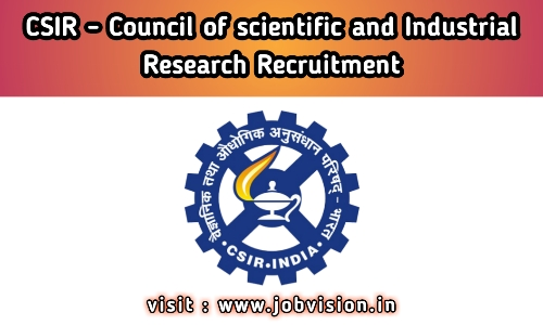 CSIR - Council of Scientific Industrial Research