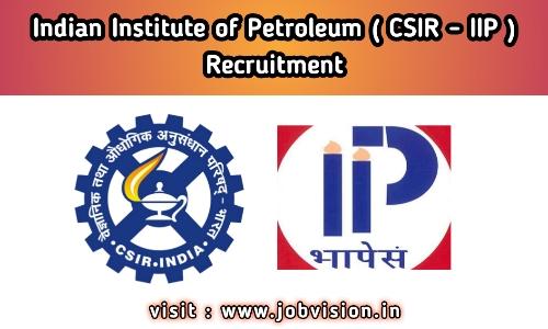 CSIR IIP Recruitment