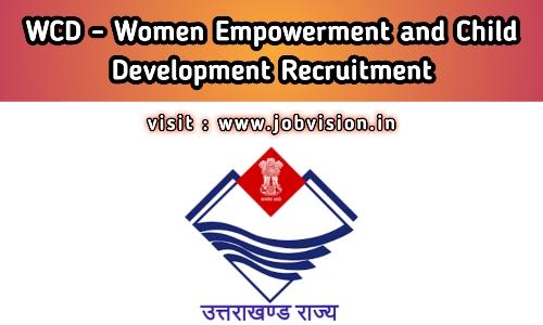 WCD - Women Empowerment & Child Development