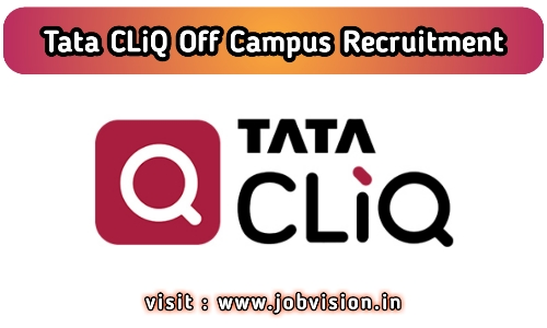 Tata CLiQ Off Campus Drive