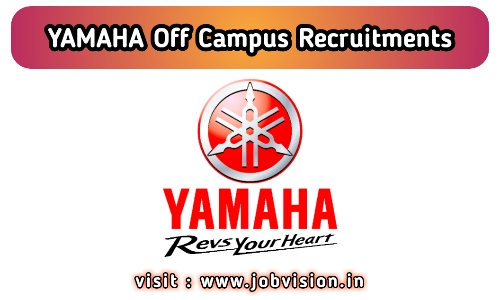 YAMAHA Motors Recruitment